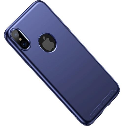 Ultra Cienkie Etui Baseus Soft Case Do Apple Iphone X Niebieskie
