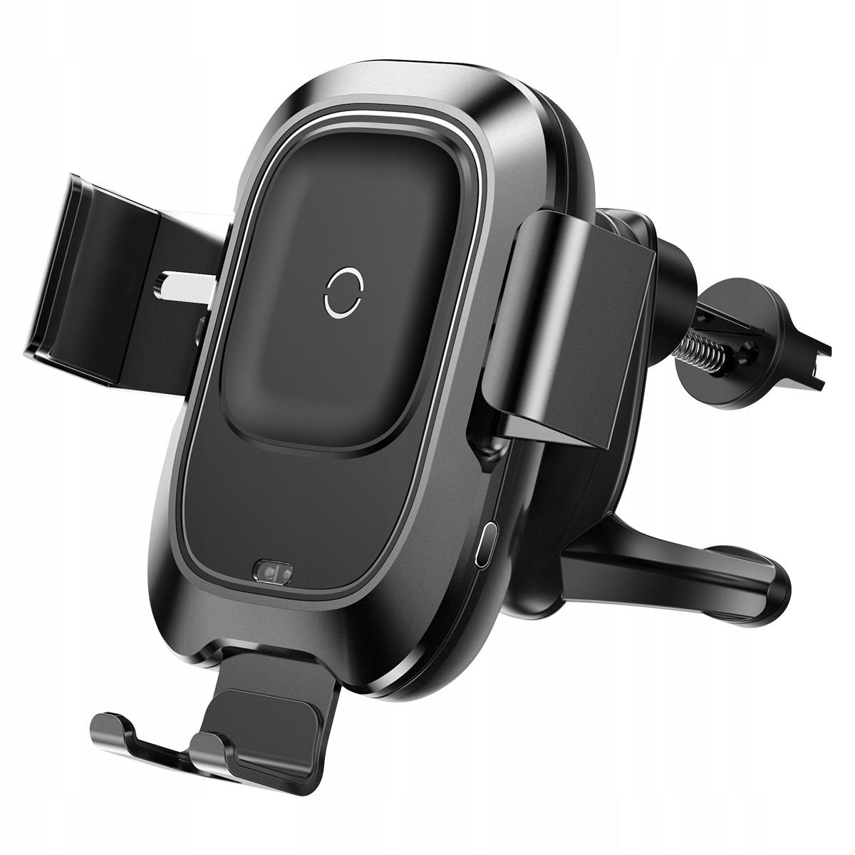 Automatyczny uchwyt z ładowarką indukcyjną Qi Baseus Intelligent Auto Lock czarn