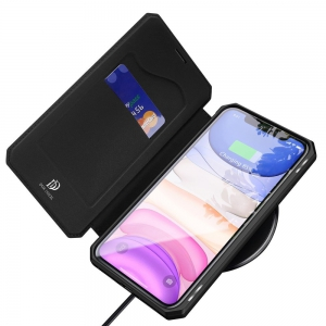 Etui z klapką DUX DUCIS Skin X do Apple iPhone 11 czarne