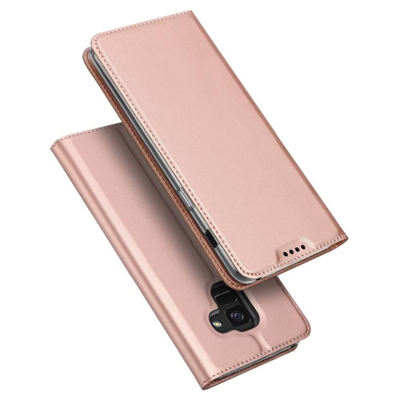 fbada1b3ff2cc Etui z klapką magnes DUX DUCIS Skin Pro do Samsung Galaxy A6 2018 różowe