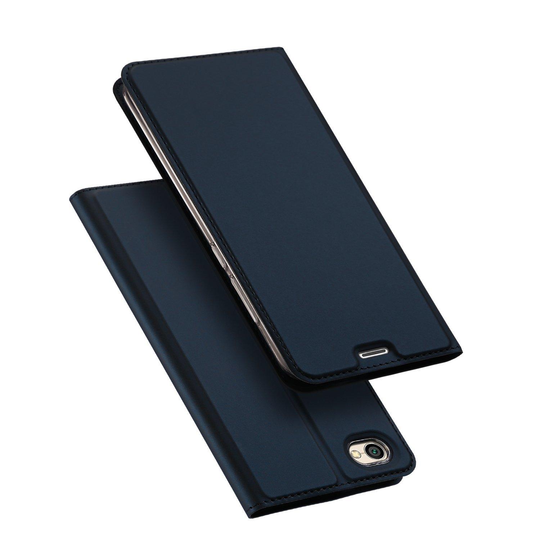 Etui z klapką magnes DUX DUCIS Skin Pro do Xiaomi Redmi Note 5A granatowe