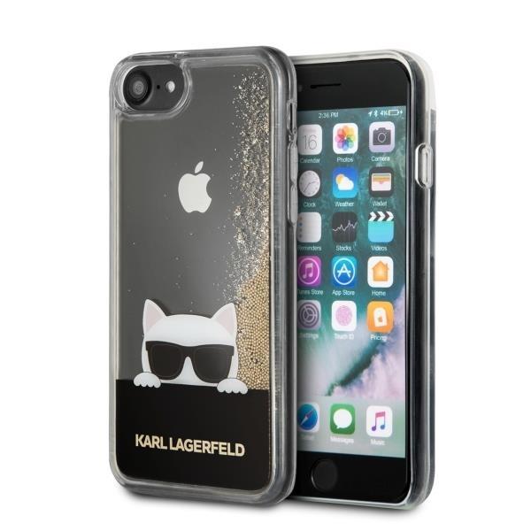 Świeże Etui silikonowe KARL LAGERFELD Choupette Sunglass do Apple iPhone VG16